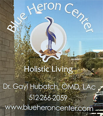 Blue Heron Center Door