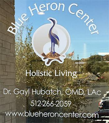 Blue Heron Center Door